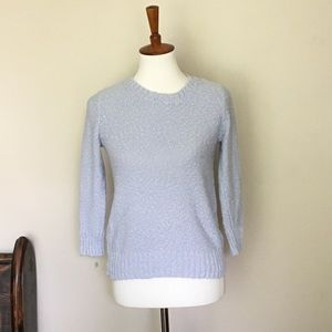 H&M Baby Blue Long Sleeve Cotton Sweater